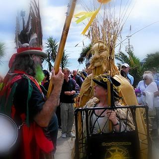 John Barleycorn.Eastbourne Lammas Festival 2015.