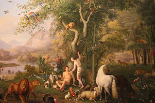 Adam and Eve in the Earthly Paradise | by rjhuttondfw