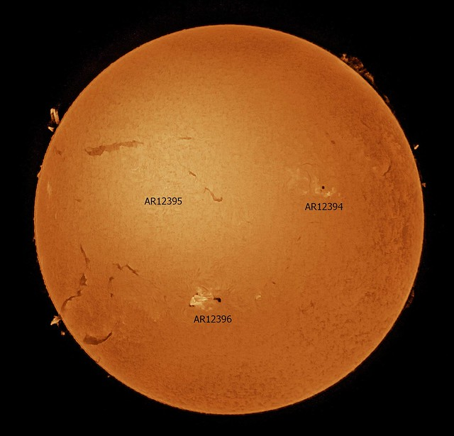Sun in H-Alpha 07/08/15