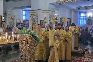 Литургия в Покровском соборе 160