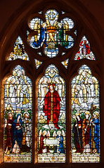 Christ in Majesty with Saints and Angels (Powell & Sons, 1912)