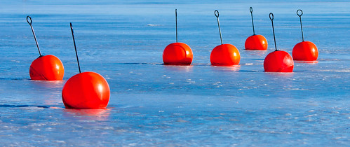 cherry mines bombs cherrybombs cherrybomb bomb frozen lake water frozenlake red dots blue background reddots blueice ice vänersborg vassbotten sweden sverige swedishwinter vinter waitingforthesummer waiting longing longingforthesummer