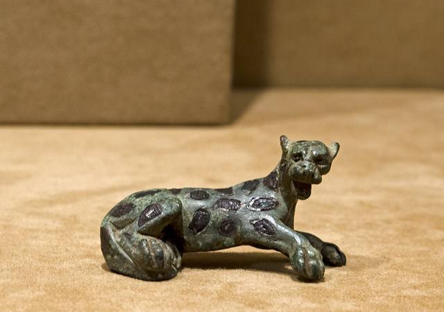 Roman panther brooch