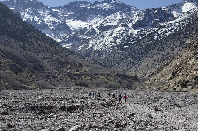 Towards Jbel Toubkal
