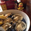 @GeoDuckie at Hole in the Wall, Apalacicola, FL ready to share these oysters w/ me for lunch