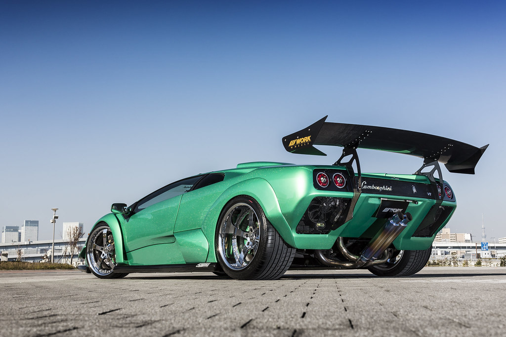 A Team Lamborghini Diablo Vt On Work Equip E05 F 20 8 5j Flickr
