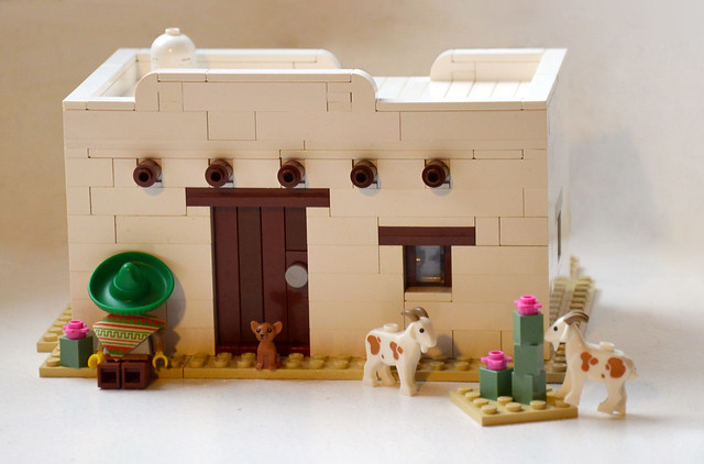 Mexican Adobe House