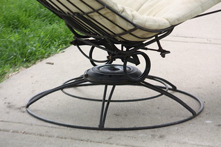 Outdoor Chic! Mid Century Modern Homecrest Patio Set--Sies