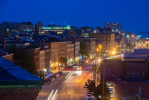 Above Commercial Street, Night | by Corey Templeton