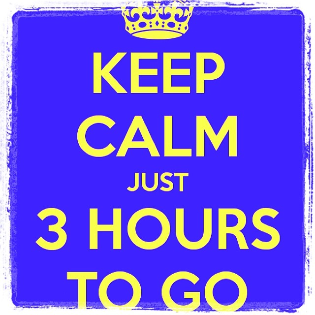 3 Hours To Go