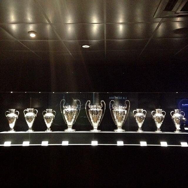 Las 9 Copas De Europa Del Real Madrid En La Nueva Expo Uef Flickr