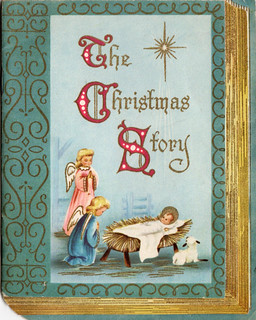 The Christmas Story Vintage Christmas Card