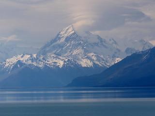 Aoraki over Lake Pukaki | by Carneddau