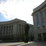 Courtyard outside Reagan Building