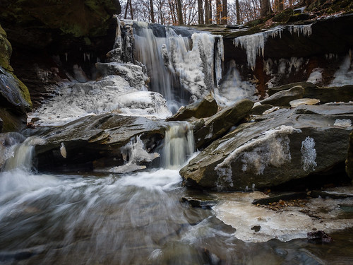 cvnp cuyahogavalley snow ice waterfall winter rjvtog em1 olympus 1240 robvaughnphoto