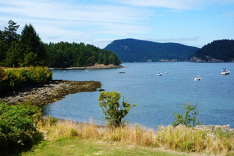 Miners Bay, Mayne Island, Southern Gulf Islands, British Columbia