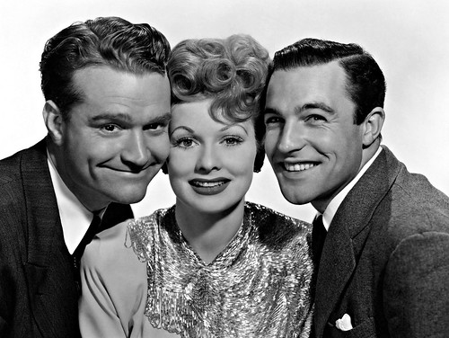 Lucy with Red Skelton & Gene Kelly