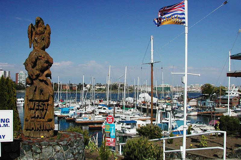 West Bay Marina, Esquimalt, Victoria, Vancouver Island, British Columbia, Canada