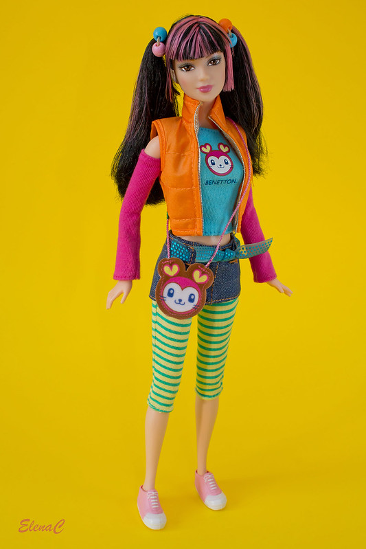 Barbie loves Benetton - Osaka
