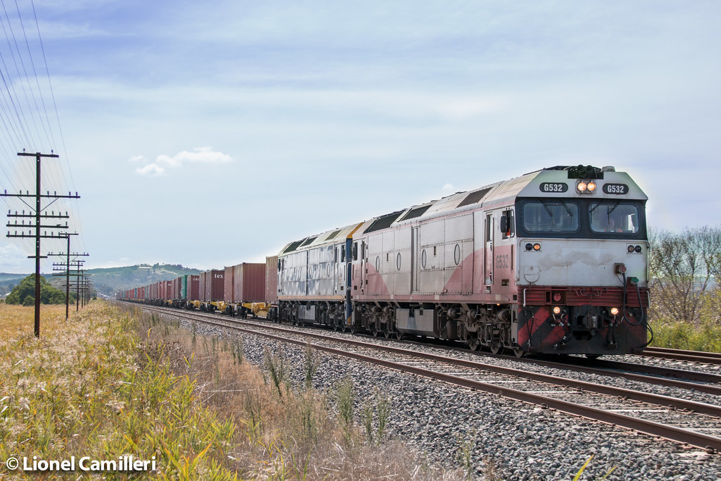 Rice Train at Wallan Distant by LC501