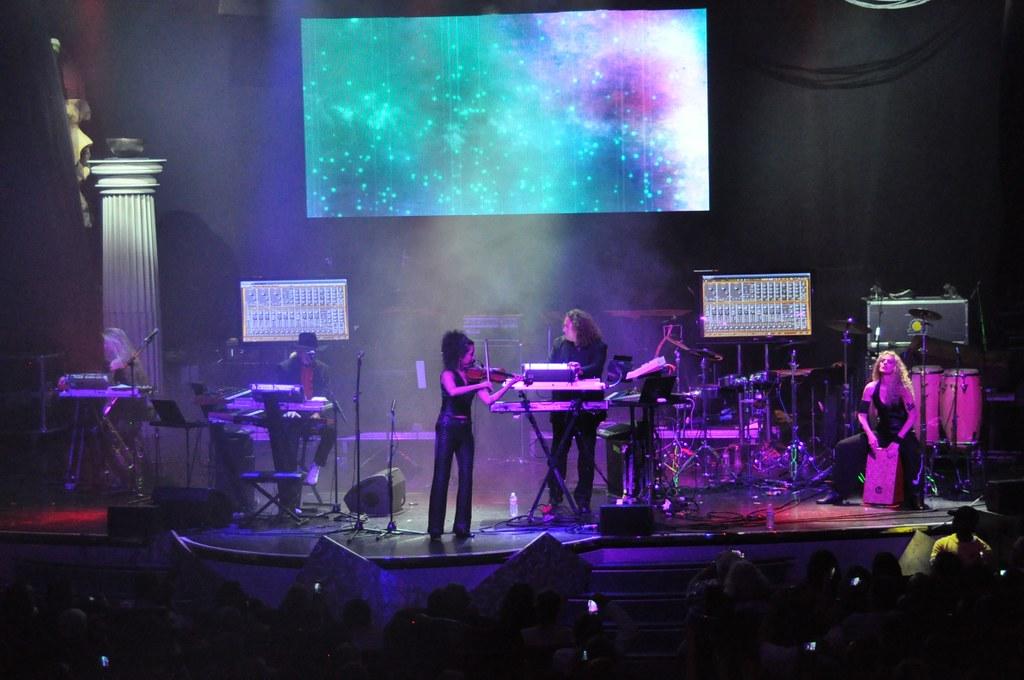 Tangerine Dream live on Cruise to the Edge 2014   Tangerine …   Flickr