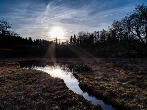 breiten sunset djiphantom4pro arial landschaft almid burgistein see