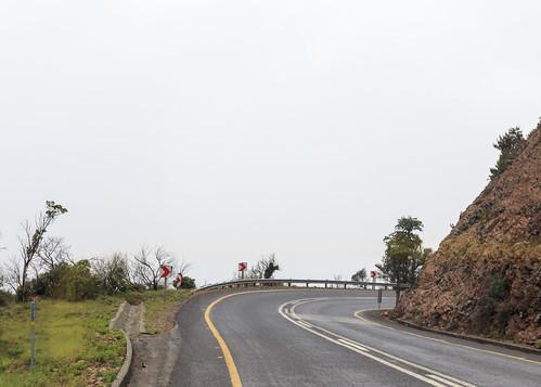 southafrica mist road fog mpumalanga sa long tom pass