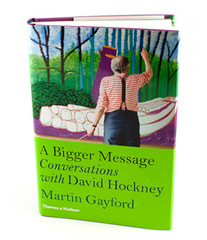 david-hockney-bigger-message | by luofeiart