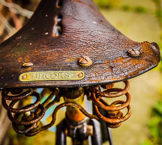 Vintage bicycle | by Bev Goodwin