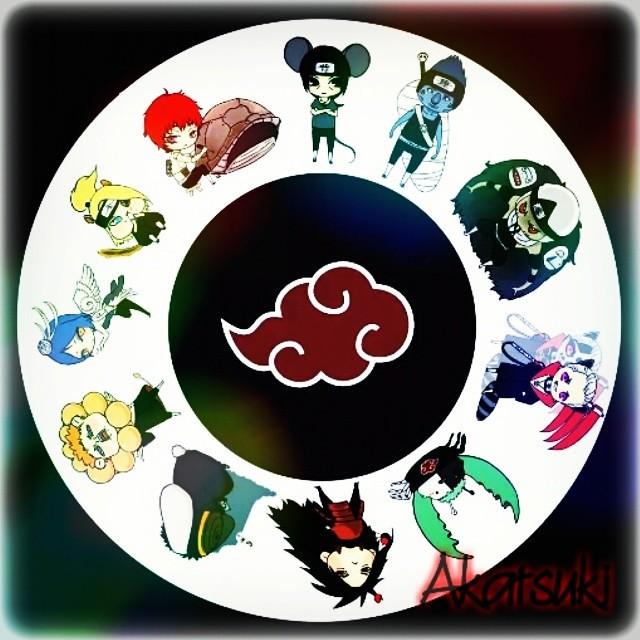 Akatsuki Animals 3 Akatsuki Anime Naruto Shippuden N Flickr