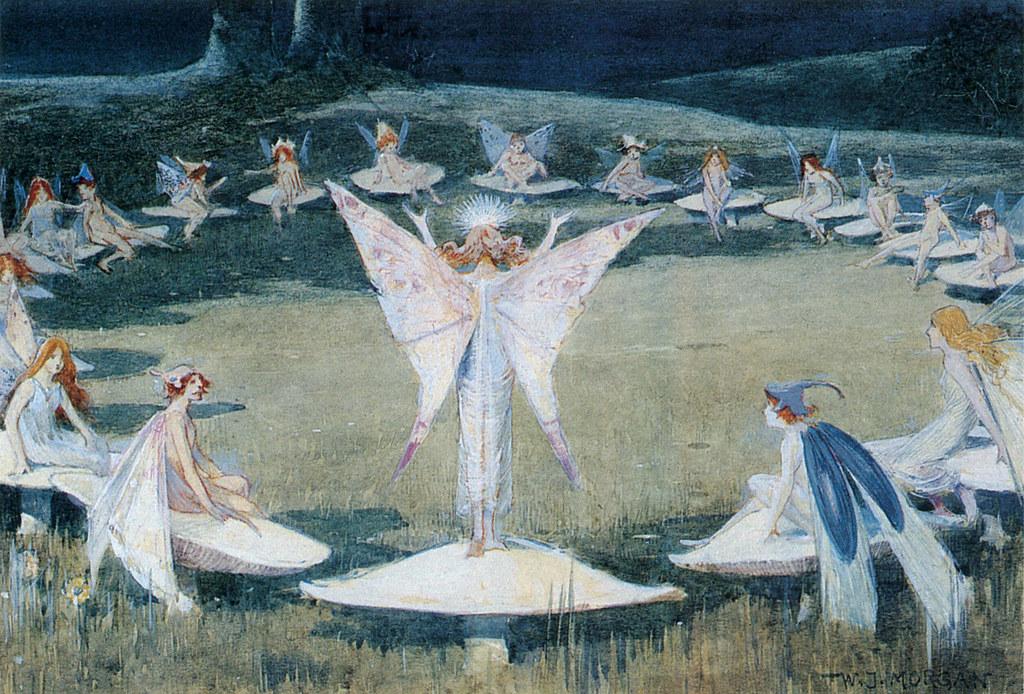 Walter Jenks Morgan (British, 1847-1924), 'A Fairy Ring'