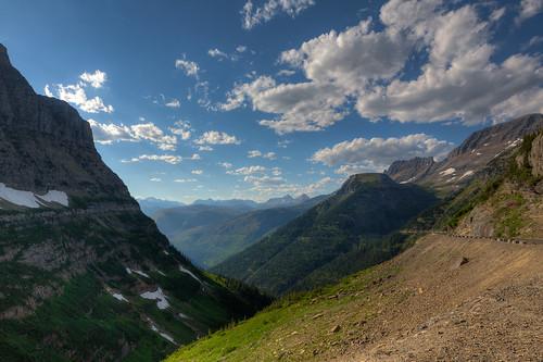 road park sun mountain montana day unitedstates pass going glacier national hdr logans westglacier pwpartlycloudy