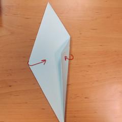 วิธีพับกระดาษเป็นรูปผีน้อย 008
