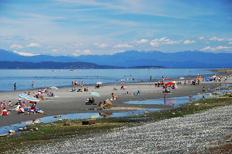 Qualicum Beach, Vancouver Island, British Columbia, Canada.