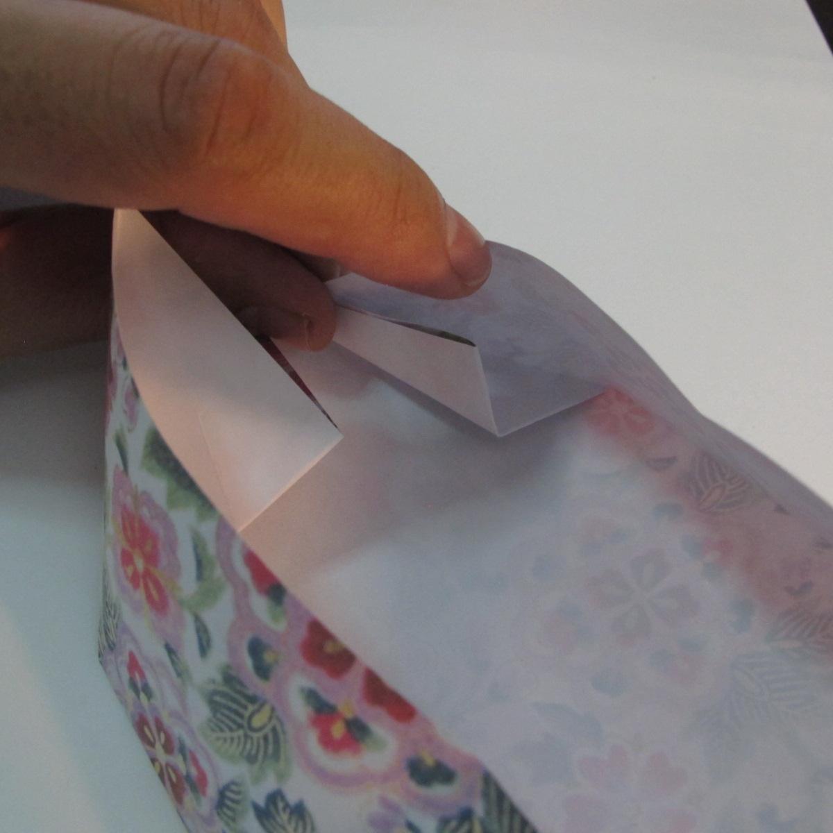 การพับกระดาษเป็นรูปหัวใจแบบ 3 มิติ 025