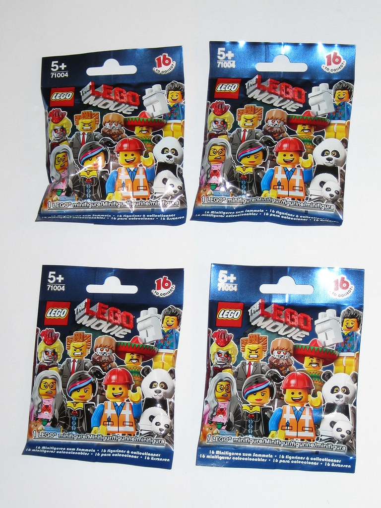 Lego 71004 The Lego Movie Minifigures Series 12 2014 Misp X 4 A Photo On Flickriver