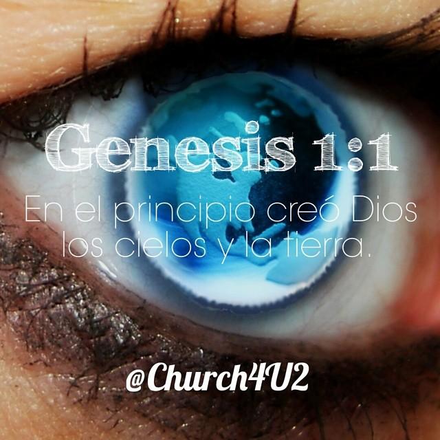 Genesis 1 1 En El Principio Creó Dios Los Cielos Y La Ti Flickr