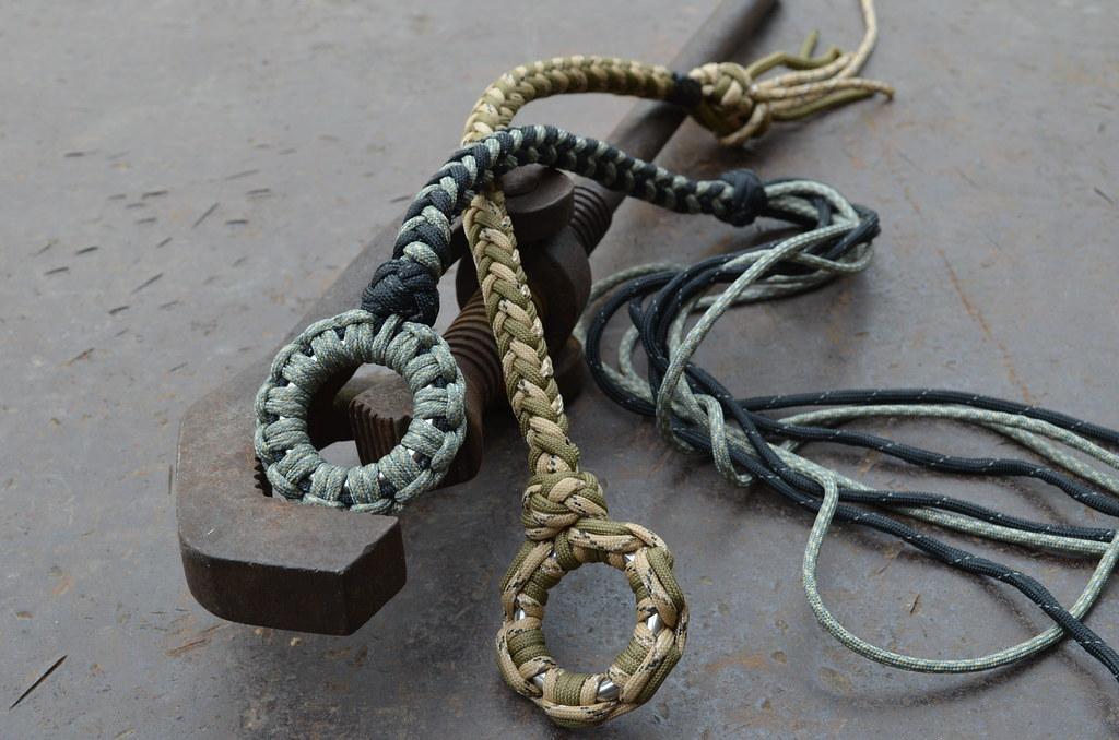 8 strands round braid   Just about to restock steel balls