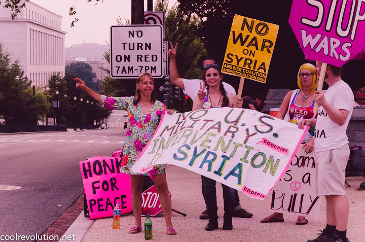 Where Is the Antiwar Movement in the US?