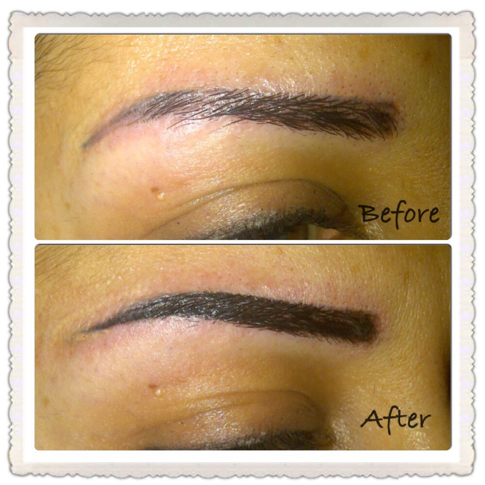 Eyebrow tattoo correction, permanent makeup | manal maalouf | Flickr