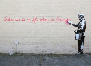 Banksy | by carnagenyc