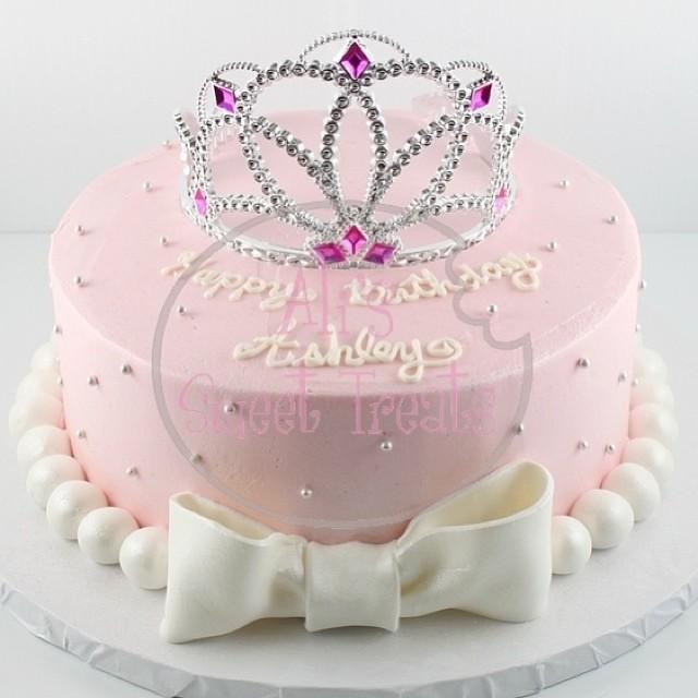 Simple Princess Cake Yummy Redvelvet Love Pink