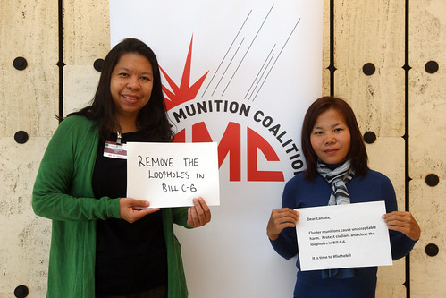 Shushira Chonhenchob (NPA Thailand) & Seevue Xaykia (HI Ban Advocate Laos) © Giovanni Diffidenti-CMC | by Mines Action Canada