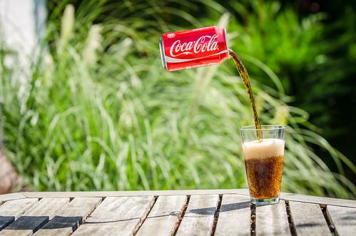 Levitating Coca Cola / Coke | by kulepind