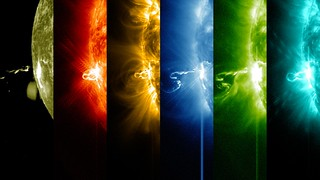NASA's SDO Shows Images of Significant Solar Flare | by NASA Goddard Photo and Video