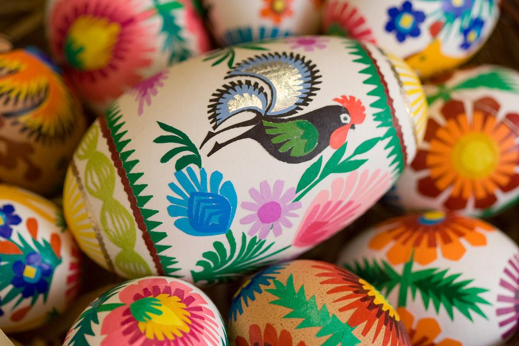 Easter eggs, Poland
