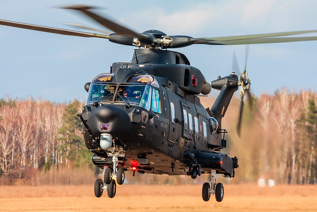 Italy Air Force / Agusta-Westland HH-101A Caesar / MM81864 / Warsaw Babice Airport / 03.03.17