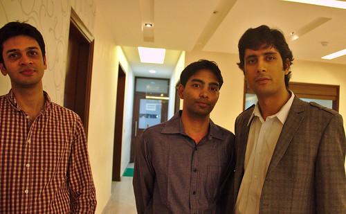 Arjun, Lokesh and Rakesh