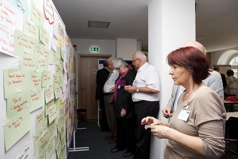 In den Workshops wurde das Thema Mobilität zusammen mit Wissenschaftlern diskutiert.