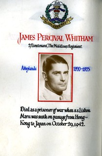Whitham, James Percival (1907-1942) | by sherborneschoolarchives